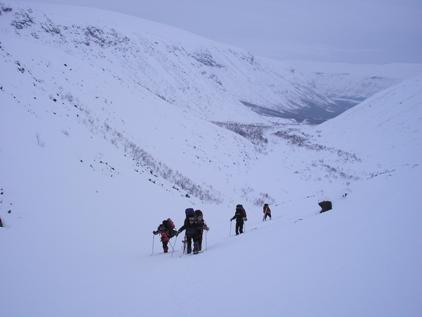 Подъем на перевал Эльмарайок
